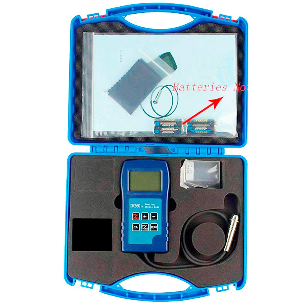 Tongbao DR260 Portable Coating Gauge Thickness with Measurement Inexpensive Max 40% OFF