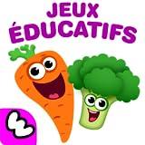 Funny Food 2 - Application pour bébés se compose de 15 Bebe Jeux Educatif pour Enfants, maternelle 2 3 4 5 ans avec puzzle pour petit! Jeu apprentissage gratuit - éducation des fille et garçons