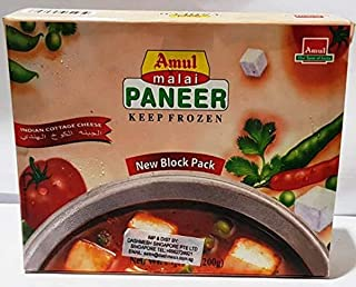 Amul PANEER BLOCK, 200 g - Frozen