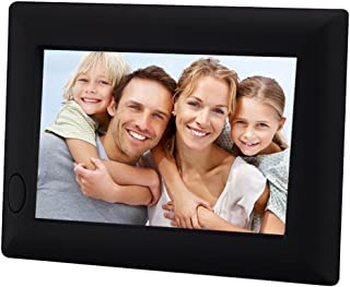 J&F ZHU ChaoRong 20 Seconds Voice Recordable Picture Frame Battery Operate,Good Gift for Your Family Member(Black)