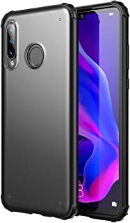 YEESOON Huawei P30 Lite Case, Ultra-Thin Frosted Transparent Back Cover Shock Absorption Anti-Fall Flexible Ultra-Light Ca...