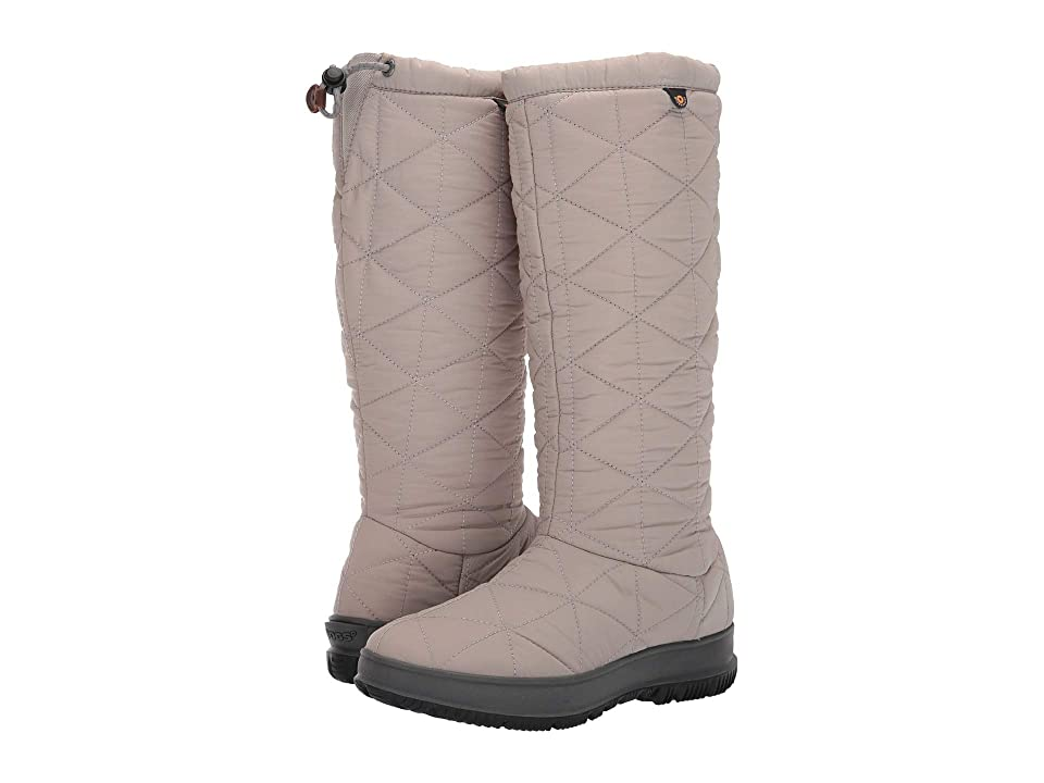 Bogs Snowday Tall (Light Gray) Women
