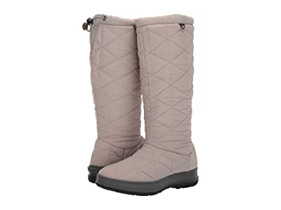 Bogs Snowday Tall (Light Gray) Women