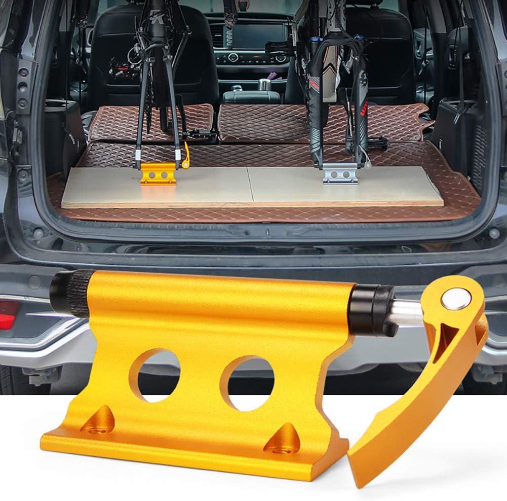 Whiie891203 V/élo Fourche Avant /à D/égagement Rapide Clip Fixe Porte-Bagages Voiture SUV Accessoires Portables Modifi/és Fournitures D/équitation Jaune 16,5 Cm X 4 Cm X 5,9 Cm