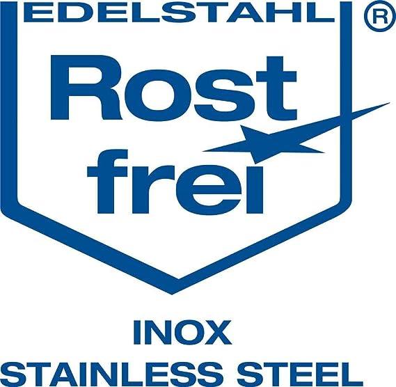 Terrassenschrauben 5 x 90 mm 400 St/ück von Screw Rebel Edelstahl geh/ärtet mit Zulassung
