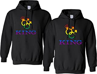 gay couple hoodies