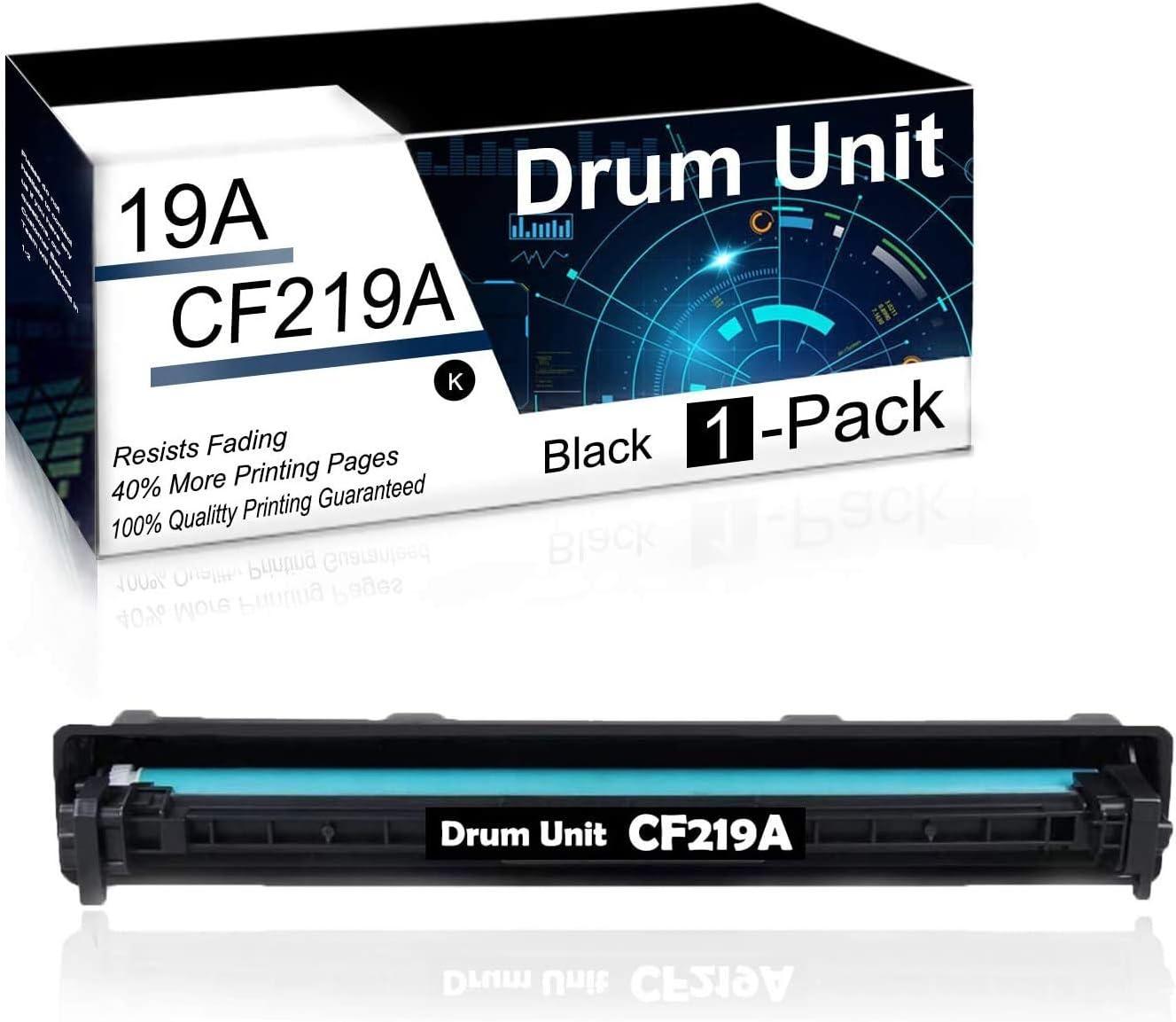 1 Pack Black 19A | CF219A Compatible Drum Unit for HP Laserjet Pro MFP M130a MFP M130nw MFP M130fn MFP M130fw M102a M102w Printer Drum Unit.