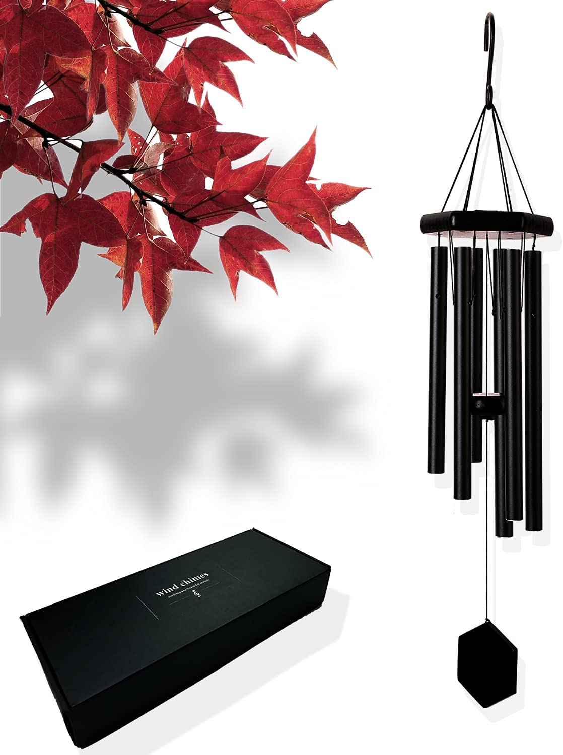 KK Margot Sympathy Wind Chimes, Memorial Gifts for Loss of Loved One Prime, 32