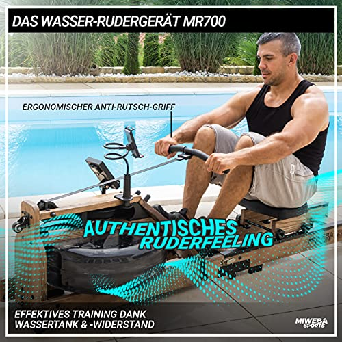 Miweba Sports  MR700 Wasser-Rudergerät - 2