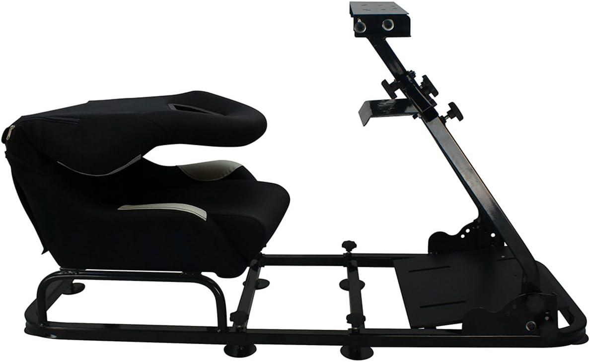 Fk Automotive Game Seat Spielsitz Für Pc Und Spielekonsolen Stoff Schwarz Orange Games