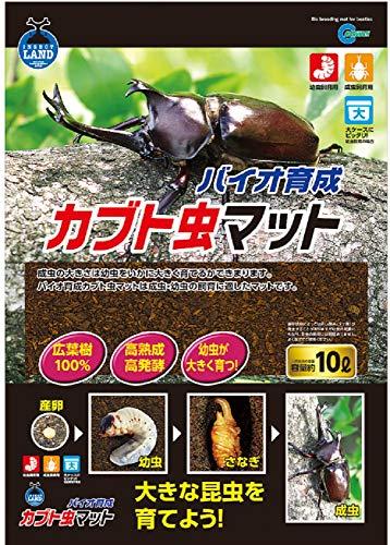 インセクトランド バイオ育成カブト虫マット 10L