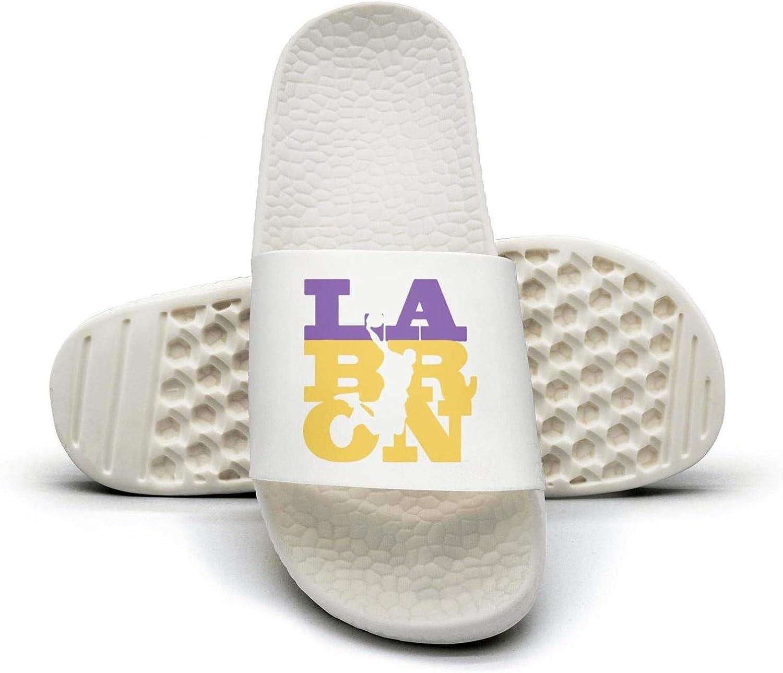 ADIDII Womens Printed Non-Slip Slippers Slides flip Flop Sandals LA-Bron-Cool_Violent_Dunk Summer Comfortable