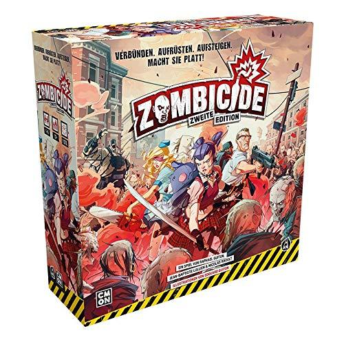 CMON CMND1216 Zombicide-2. Edition Basic Game, Multicoloured, Colourful