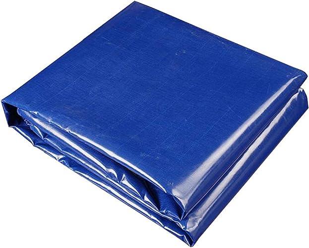 MuMa Bache PVC Bleu Imperméable Crème Solaire Ombre Voiture Toile Couverture Personnalisé (Taille   4  6m)