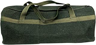 Martinimble Tool Storage Organizer Bag,Thick Canvas Pouch Bags Storage Organizer Instrument Case Portable for Electrical Tool
