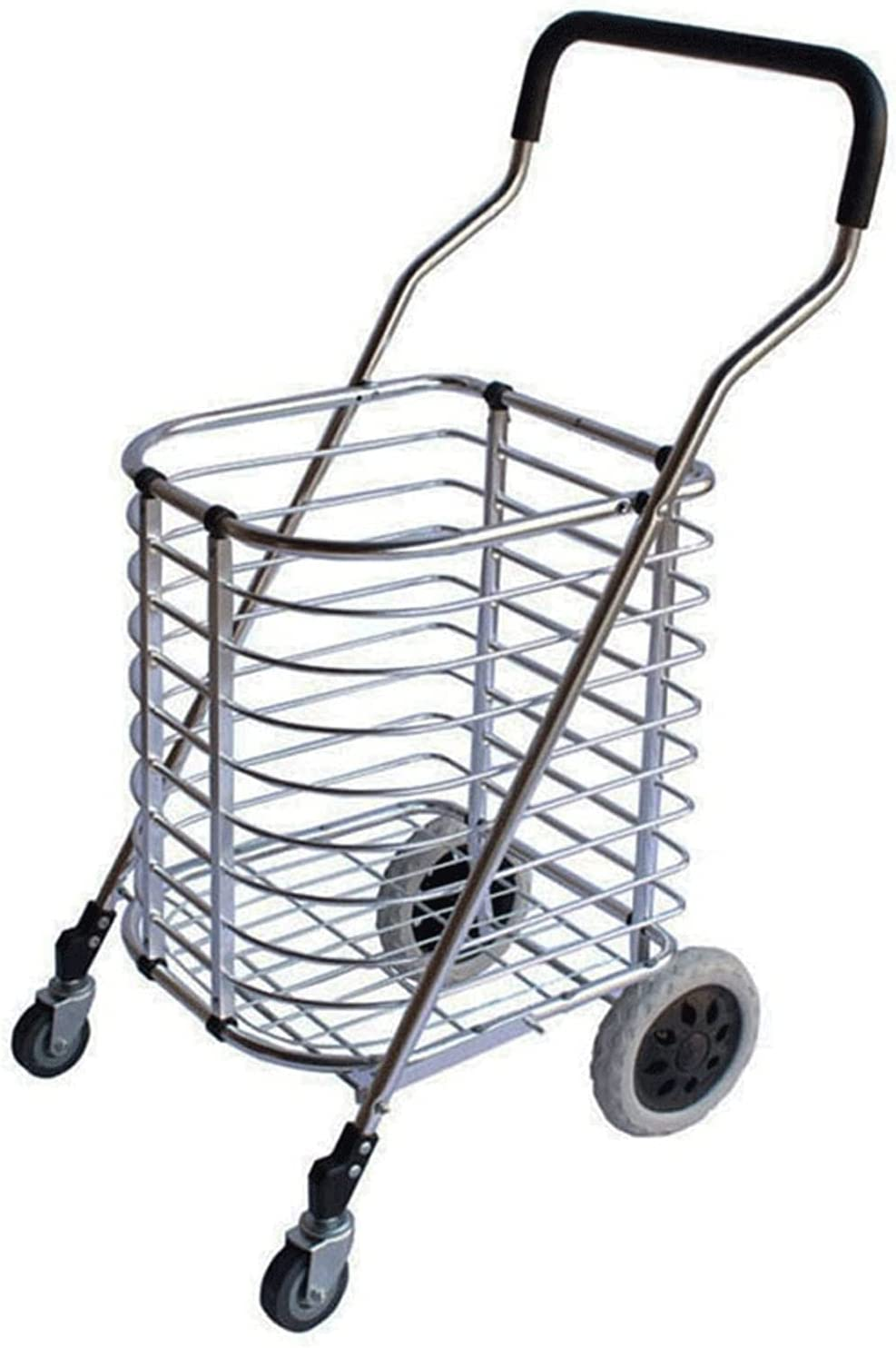 LYLY Shopping Colorado Springs Mall Cart with Swivel Ranking TOP17 Utility w Wheels Collapsible