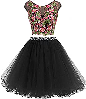 Long Evening Prom Dresses for Women Formal Gown with Pockets Print Floral D295