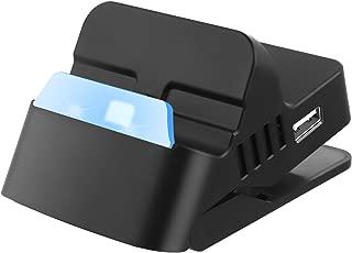 Nintendo Switch ドック スタンド ニンテンドー スイッチ プレイスタンド 充電スタンド ミニ小型 【HDMI変換/TVモード/テーブルモード】 USBポート 熱対策 最新システム対応 LANアダプター/ジョイコン/プロコン接続でき 日本語説明書付き