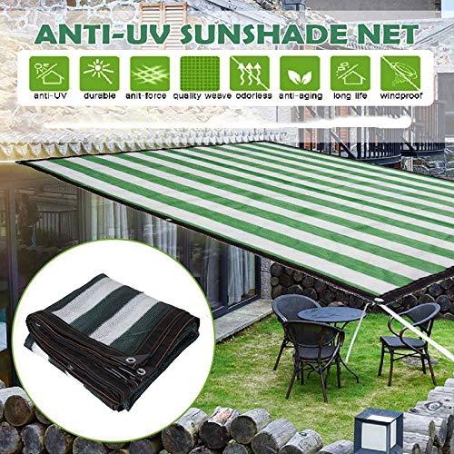 Awnings Malla sombreo Playa Parasol sombrilla de la Vela Neto jardín al Aire Libre del paño de cifrado Engrosamiento Patio Cubierta Anti-UV Cubierta del Coche (Size : 2x5m)