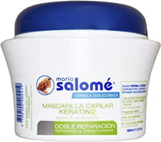 Maria Salome Mascarilla Capilar Keratin2 Repairing Conditionning no salt 350 ml