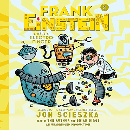 Frank Einstein and the Electro-Finger  By  cover art