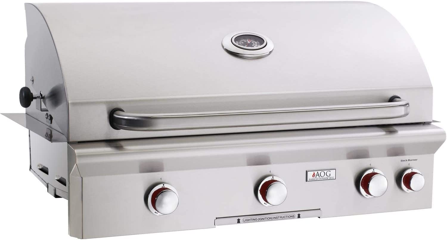 AOG American Max 52% OFF Ranking TOP5 Outdoor Grill T-Series 3-Burner 36-Inch Built-in Na