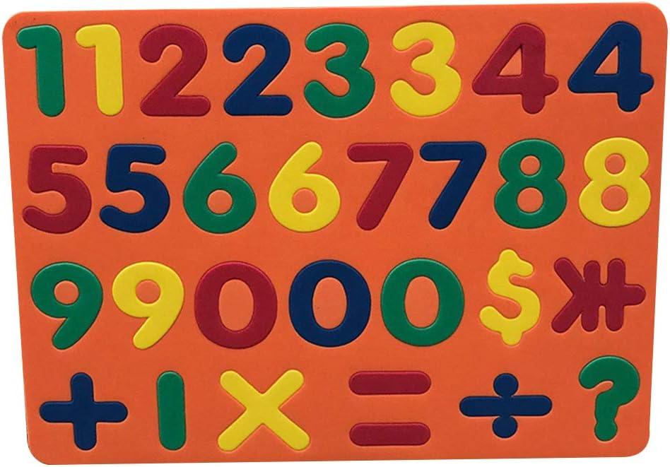 BARMI Japan Maker New Recommendation Magnetic EVA Foam Letters Shape Lear Stickers Numbers Kids
