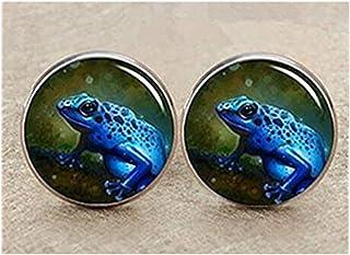 Gemelos, diseño de rana verde