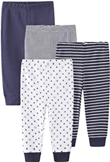 Newborn Pants Baby and Toddler Unisex Cotton Trousers Pants Cute Baby Pants