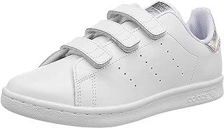 adidas Originals Stan Smith CF C, Baskets Mixte Enfant, Cloud White/Cloud White/Core Black, 30.5 EU