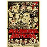 brandless Quentin Tarantino Film Retro Poster Pulp