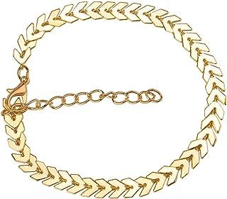Ronshin Fashion Bracelets Women Simple Fashion Alloy Arrow Bracelets Party Jewelry
