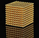 WOCTP Set de Juegos de Aprendizaje de Inteligencia 1000 PCS Bolas Establecer Bolas pequeñas Que se sienten activando el Cerebro Gold