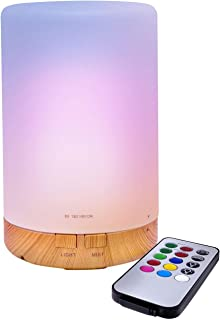 LED Concepts® Essential Oil Diffuser/Aroma Oil Cool Mist Humidifier with Remote Control— Includes 7 LED Light Changing Colors and Relaxing Misting Modes—Perfect for Home, Office, Spa, and more