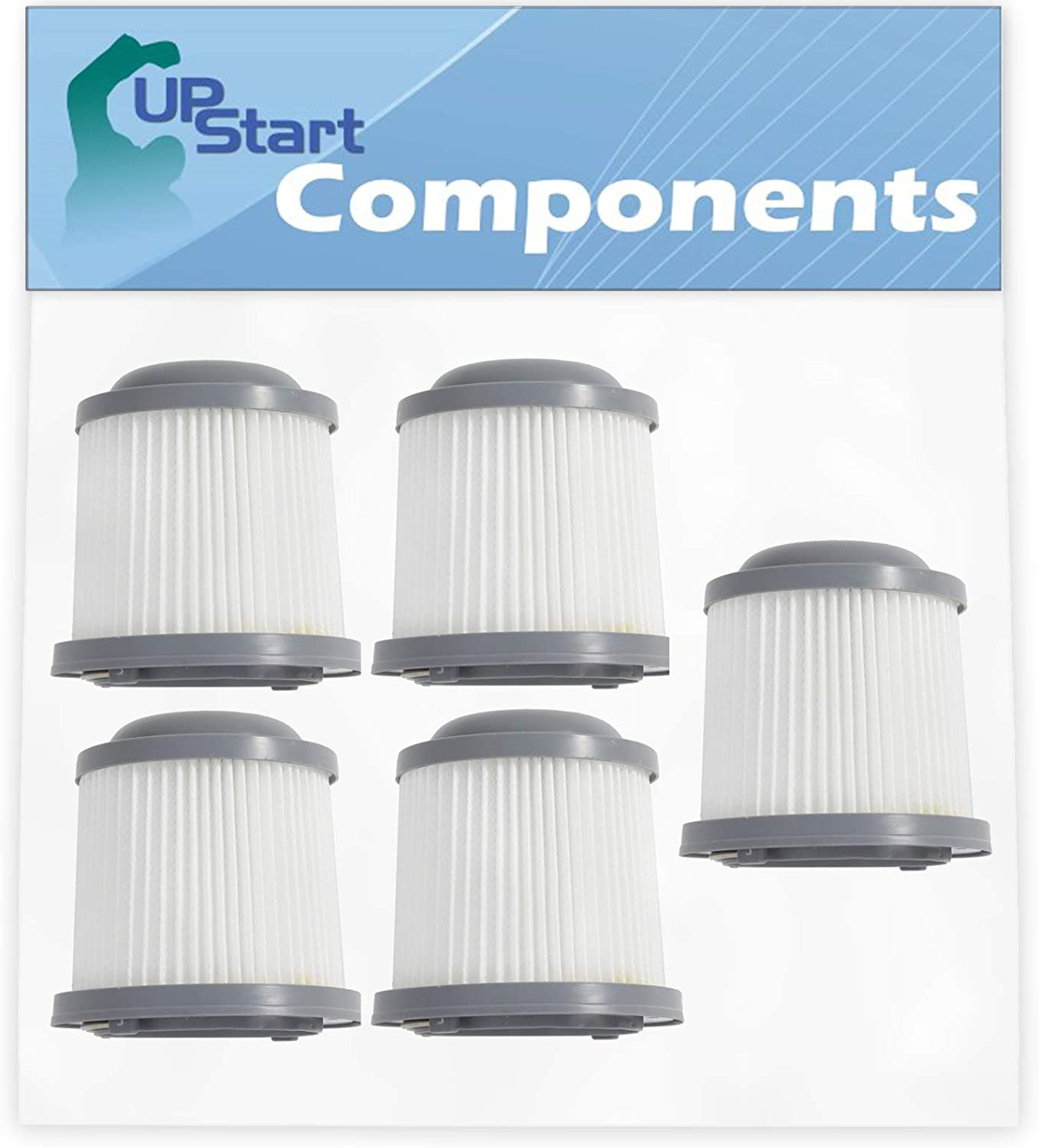 5-Pack PVF110 Filter Replacement BDH2020FLFH Al sold out. Black Inexpensive Decker for