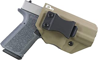 FDO Industries -Formerly Fierce Defender- IWB Kydex Holster Polymer 80 Compact (PF940C) (19/23) -The Winter Warrior Series -Made in USA-