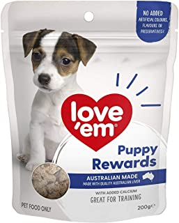 Love Em Puppy Rewards Liver Dog Training Treats 200g