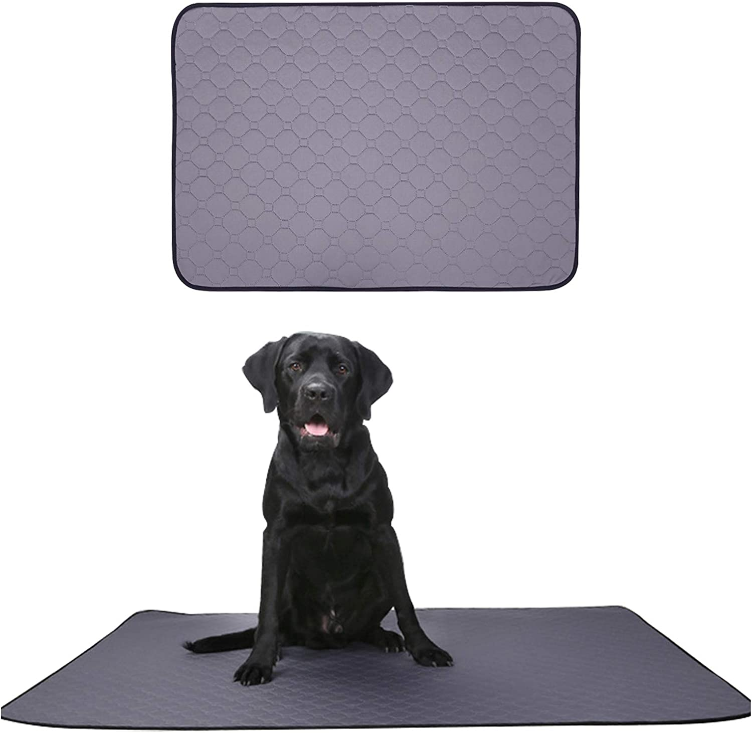 HACRAHO Dog Pee Pad 1 Grey Puppy Reusable Piece Manufacturer regenerated National products product Non-Sli