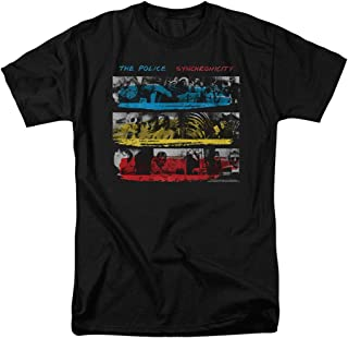 Popfunk The Police Synchronicity Album T Shirt & Stickers
