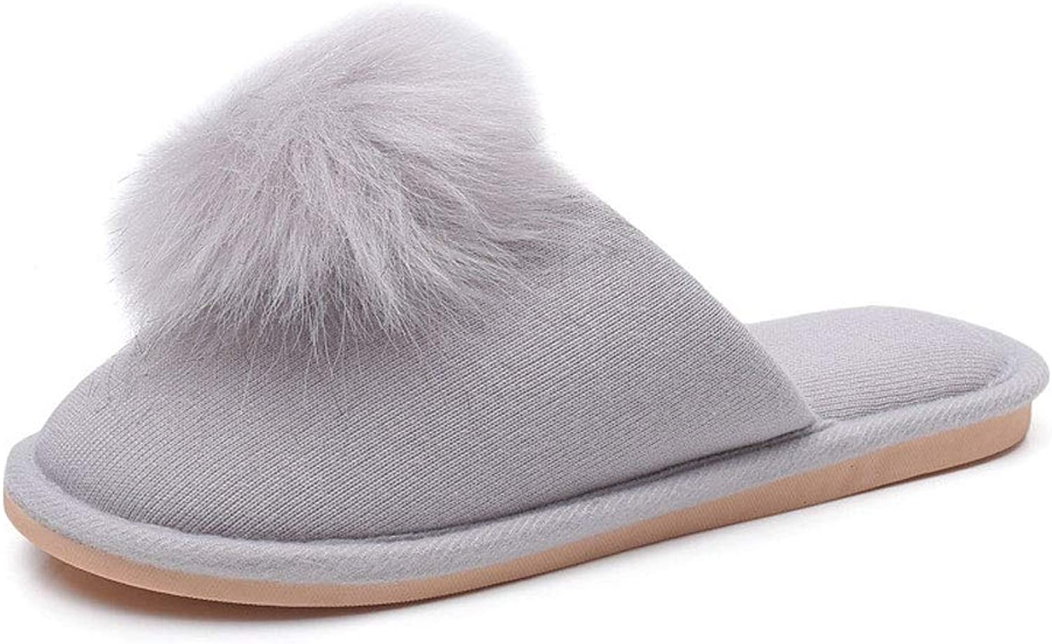 Womens Slippers Ladies Slippers Memory Foam House Home Slip On Indoor Warm Plush Lightweight shoes Anti Skid Sole