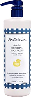 Noodle & Boo Sibling Size Soothing Body Wash for Gentle Baby Care, 25 oz.