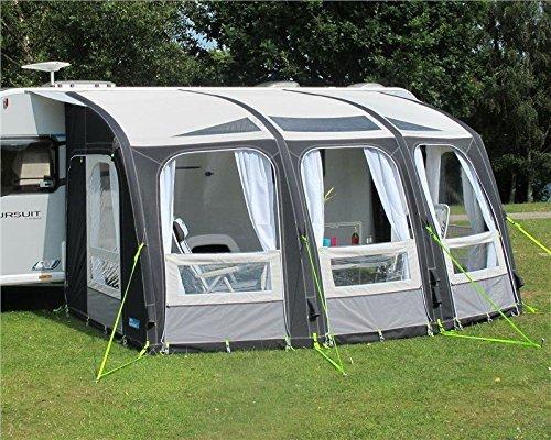 Kampa Rally Ace Air 400 opblaasbare caravan-veranda/luifel, groot