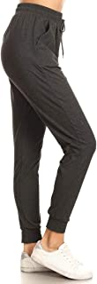 Women's Printed Solid Activewear Jogger Track Cuff...
