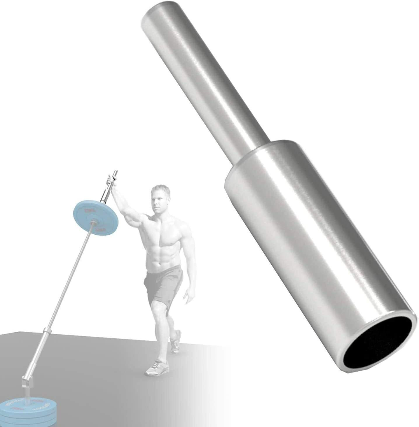 CLTWYZ Straight Japan's largest assortment Stainless Steel Memphis Mall Grip Handle Gym Back A Landmine