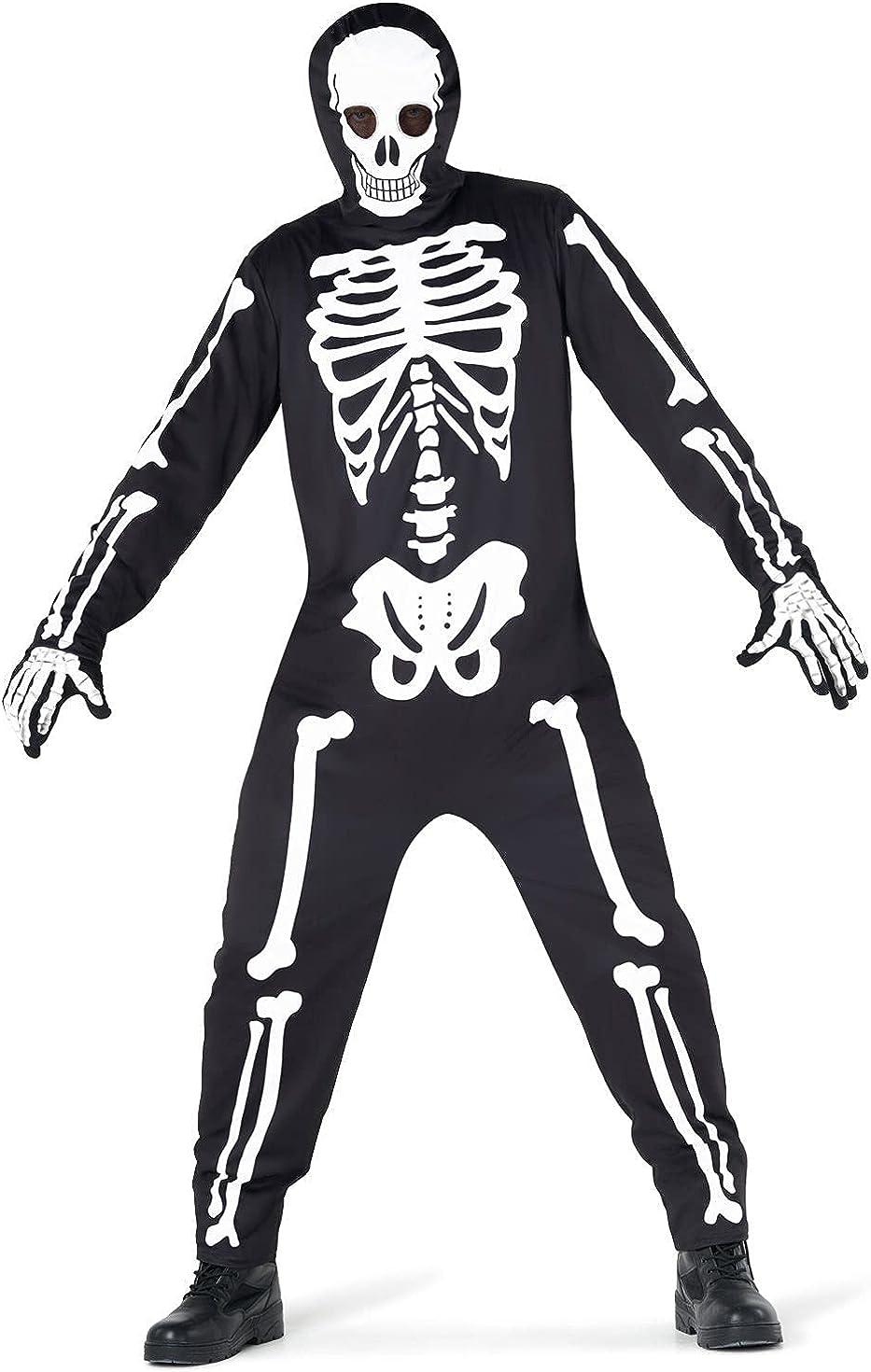 Morph Deluxe Costume Mens Skeleton Halloween Max 57% OFF Avail Men