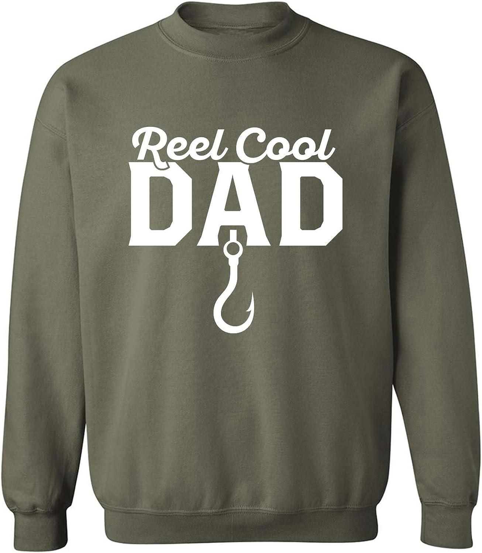 Reel Cool Dad Crewneck Sweatshirt