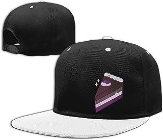 XUXUEYING LGBT Ace Asexual Pride Baseball Cap Unisex Snapback Hat Outdoor Bike Sun Cap