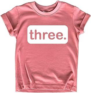 3rd Birthday Girl Outfit 3 Year Old Girls Shirt Three Shirts 3t Toddler Third