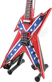Miniature Guitar Dimebag USA Rebel Razorback