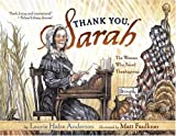 Thank You, Sarah by Laura Halse Anderson